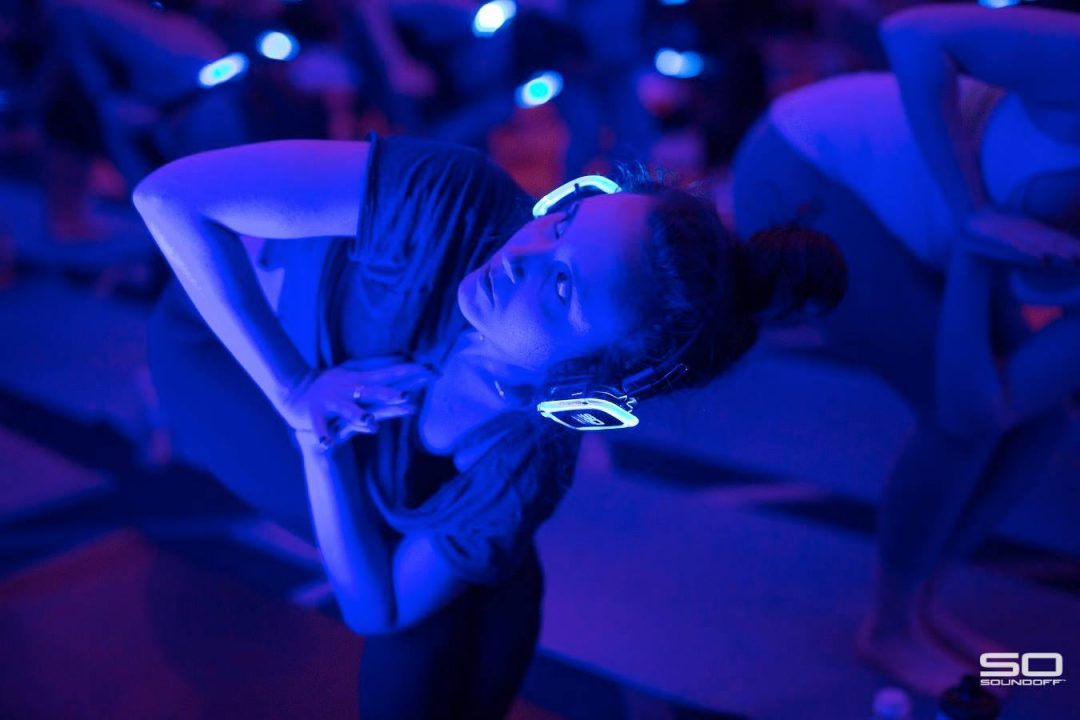 silent yoga disco