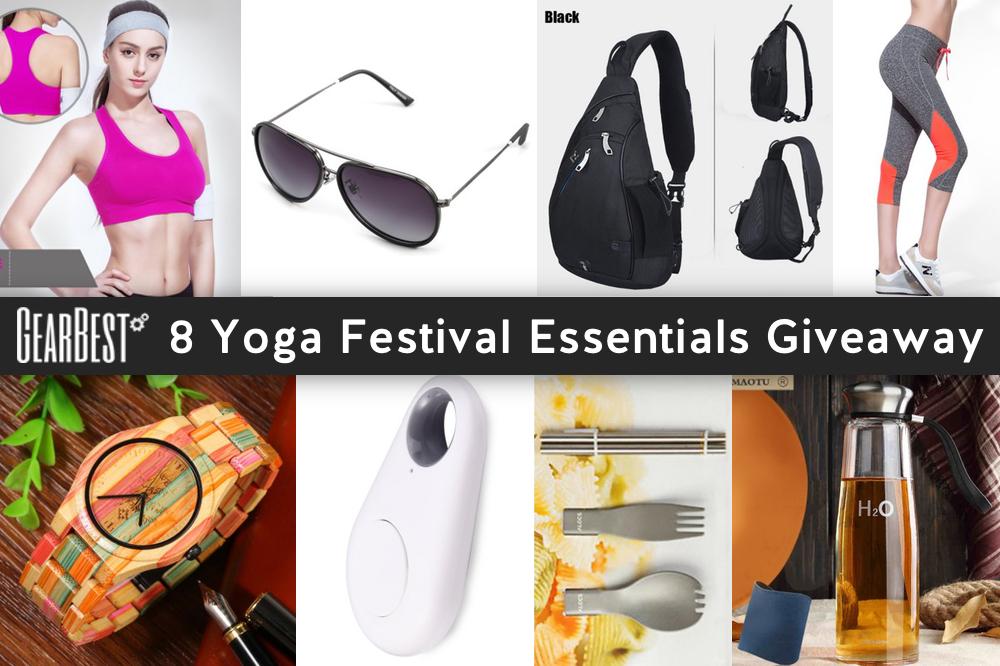 8 Yoga Festival Essentials Giveaway
