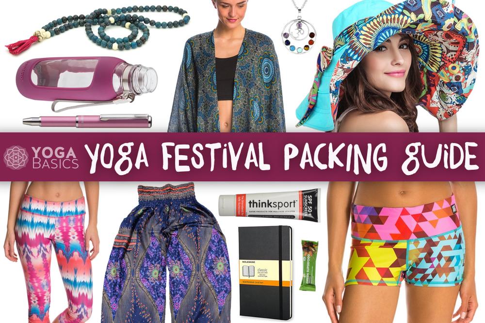 yoga festival packing guide