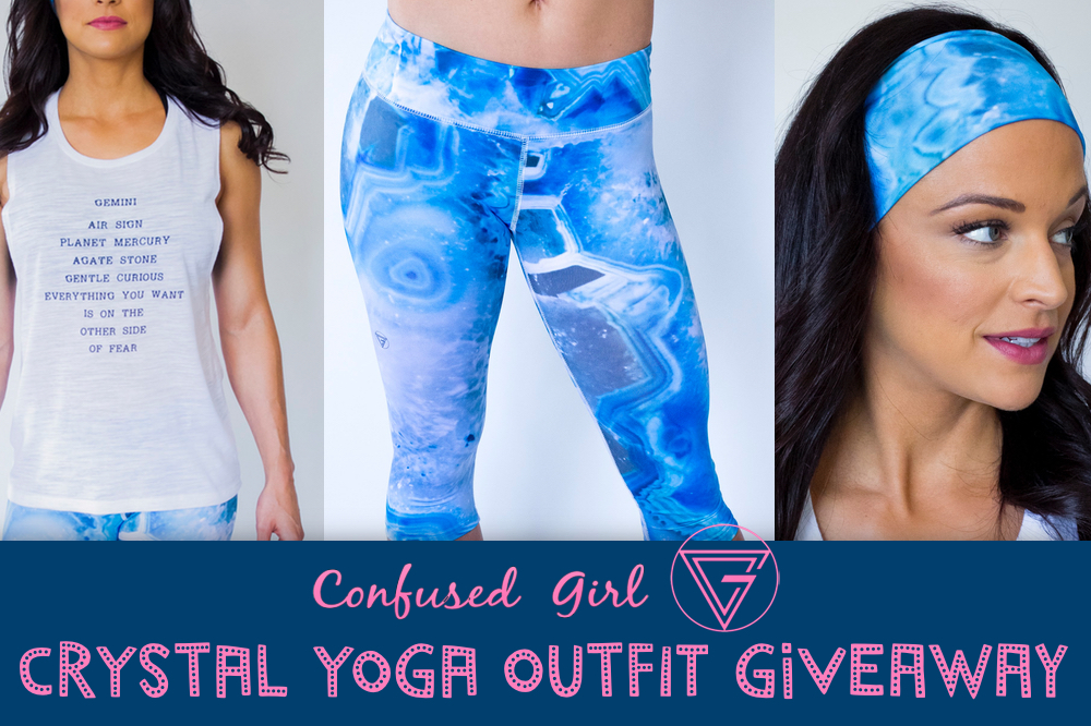 July Giveaway: Confused Girl Crystal Yoga Outfit