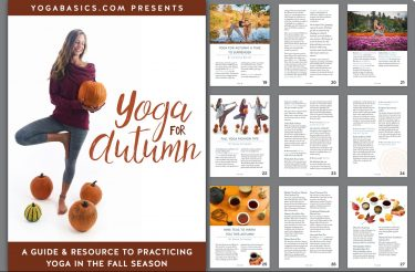 yoga for autumn ebook