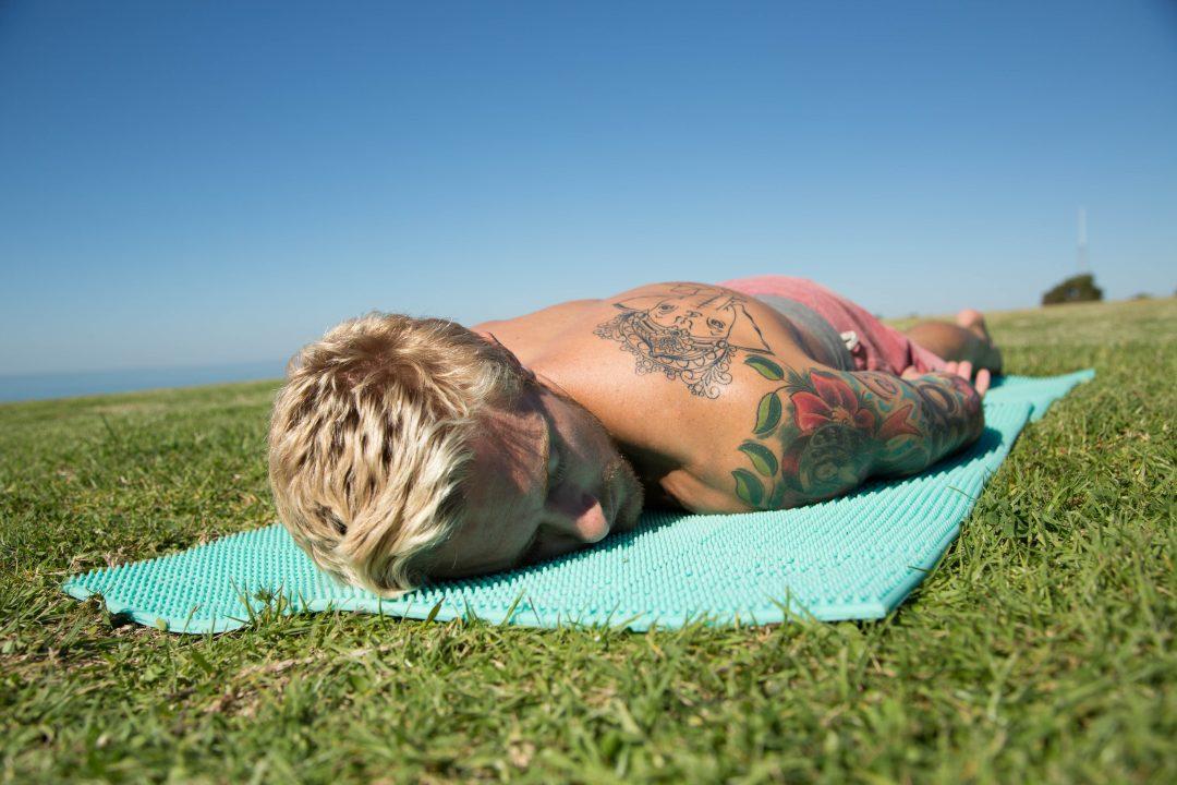 acupressure yoga mat
