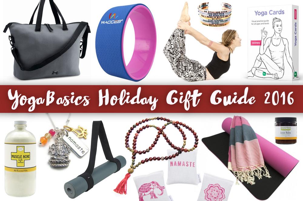 Yoga Gift Guide 2016