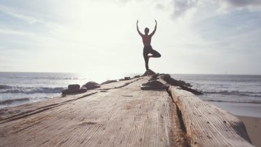 beach yoga retreat