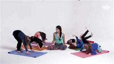 Kids Try Yoga video