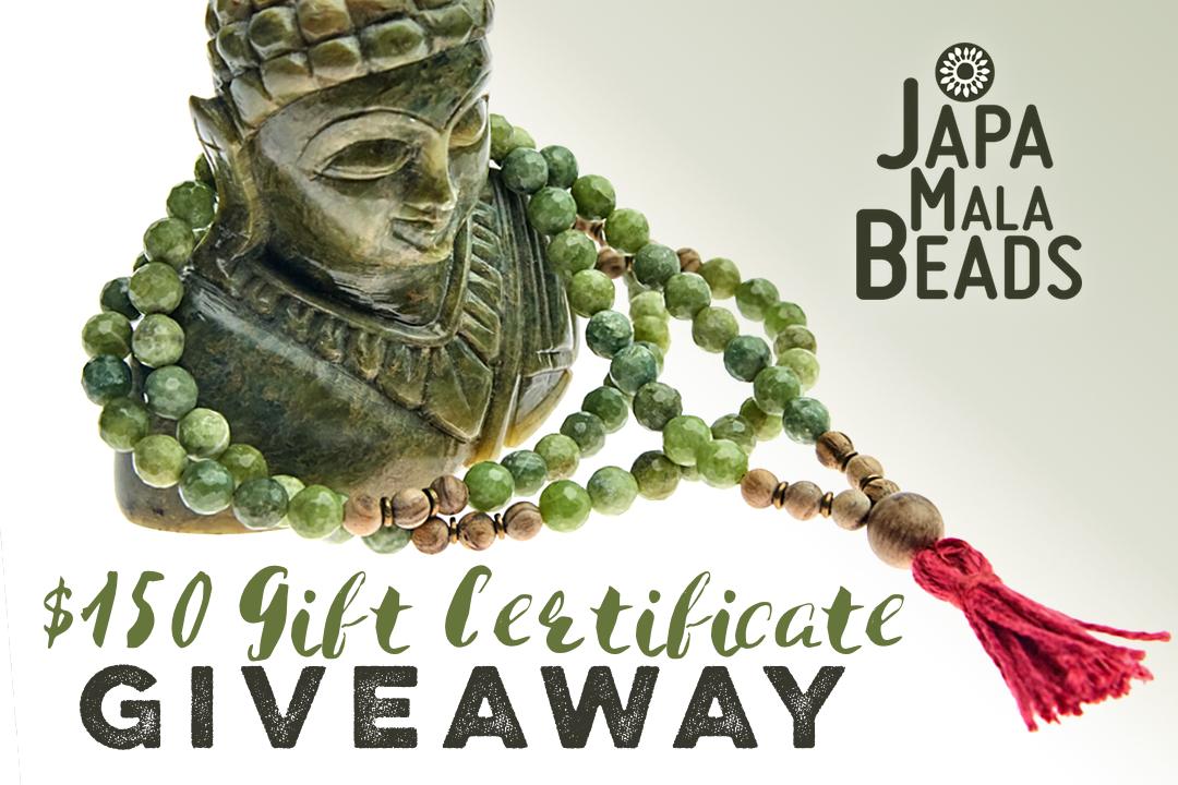 mala bead giveaway contest