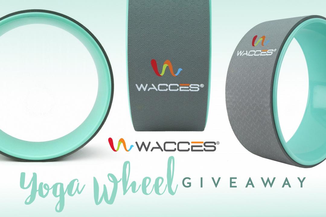June Giveaway: Wacces Yoga Wheel