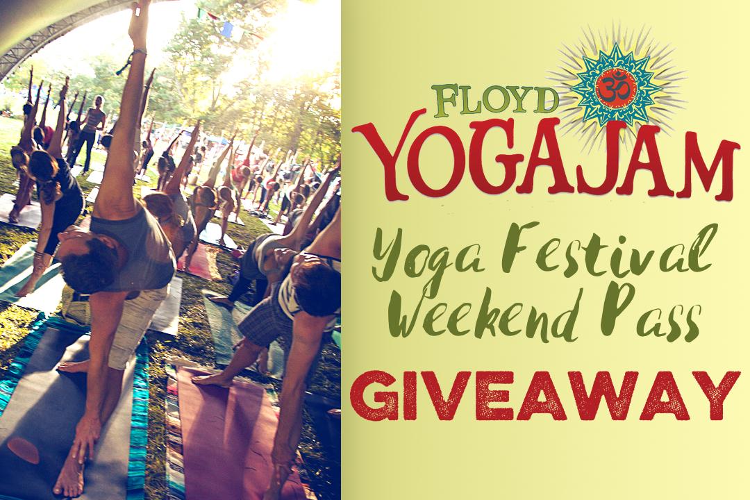 Floyd Yoga Jam yoga festival giveaway