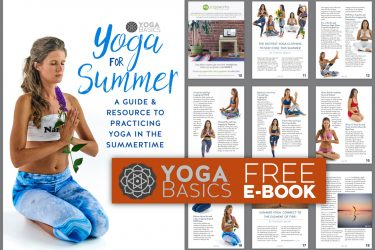 Free yoga ebook: yoga for summer