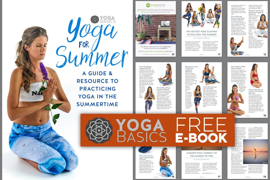 Free yoga ebook: yoga for summer