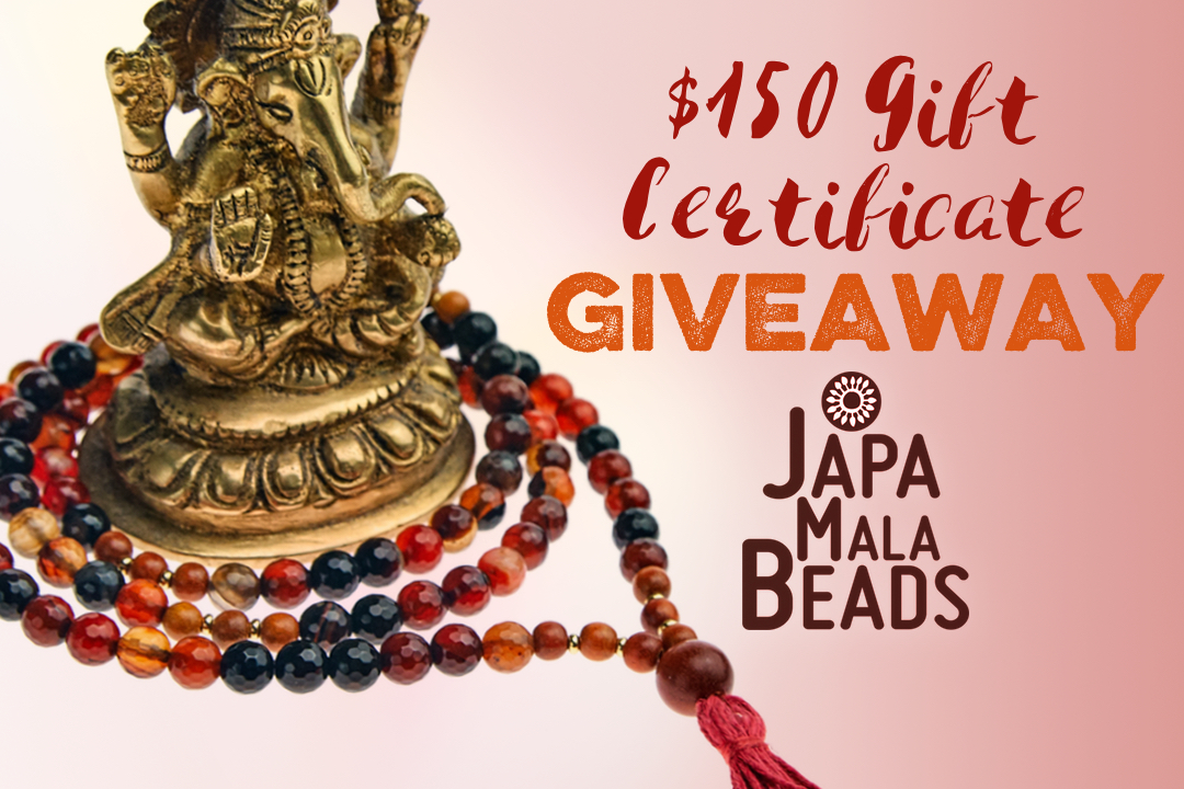 Japa Mala Beads giveaway contest