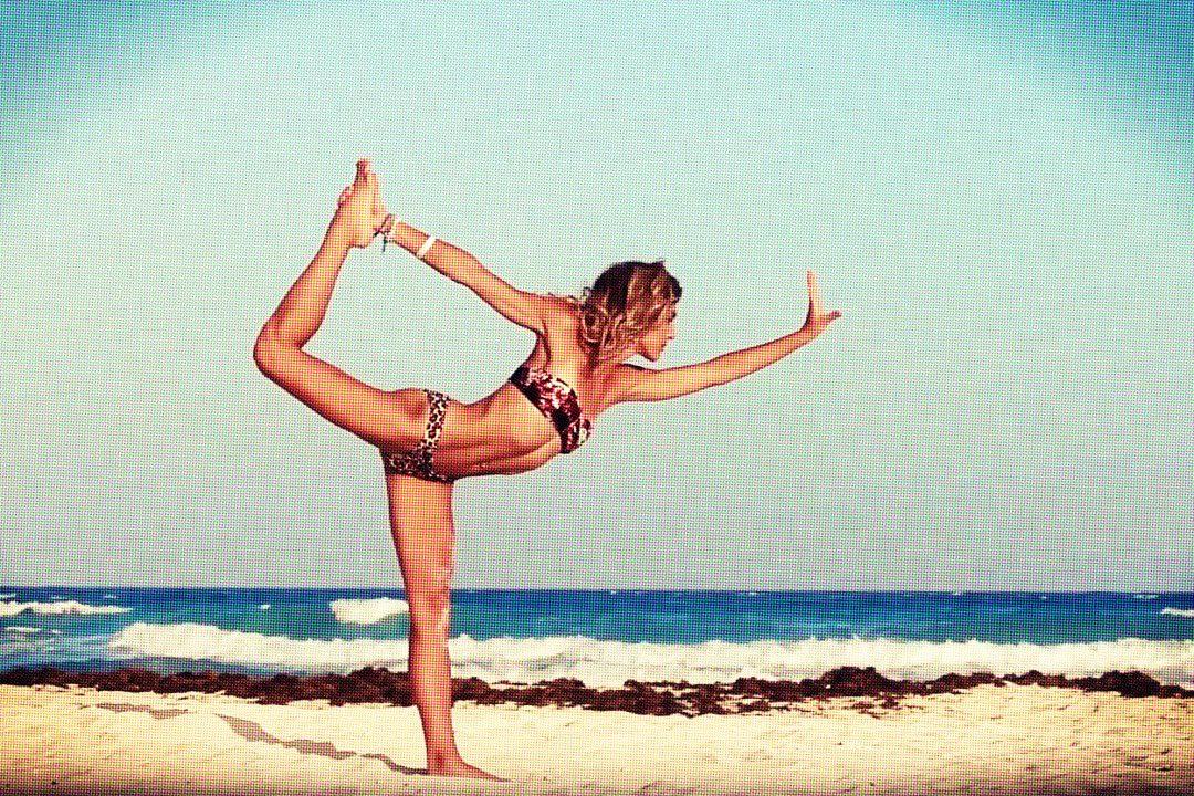 Inspiring yoga video Tulum