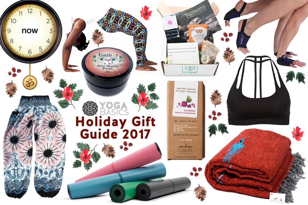 Yoga Basics Holiday Gift Guide 2017 • Yoga Basics