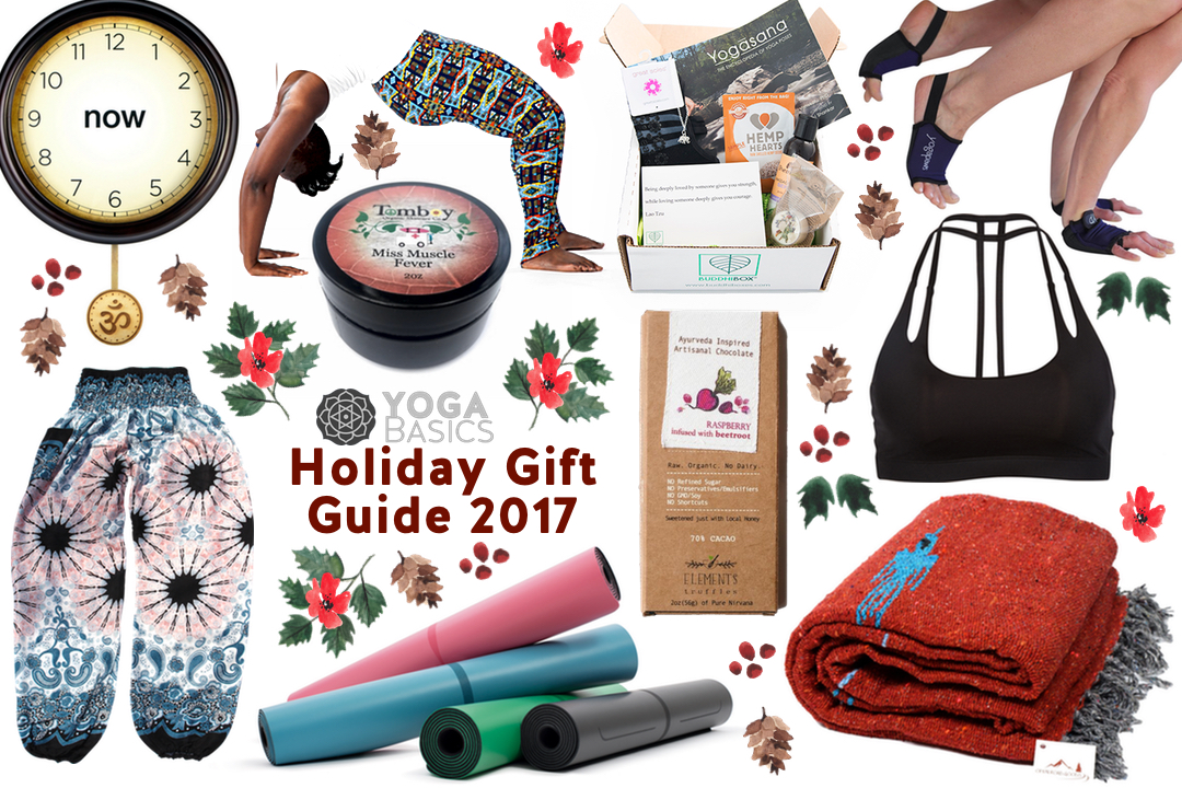 Yoga Basics Holiday Gift Guide 2017