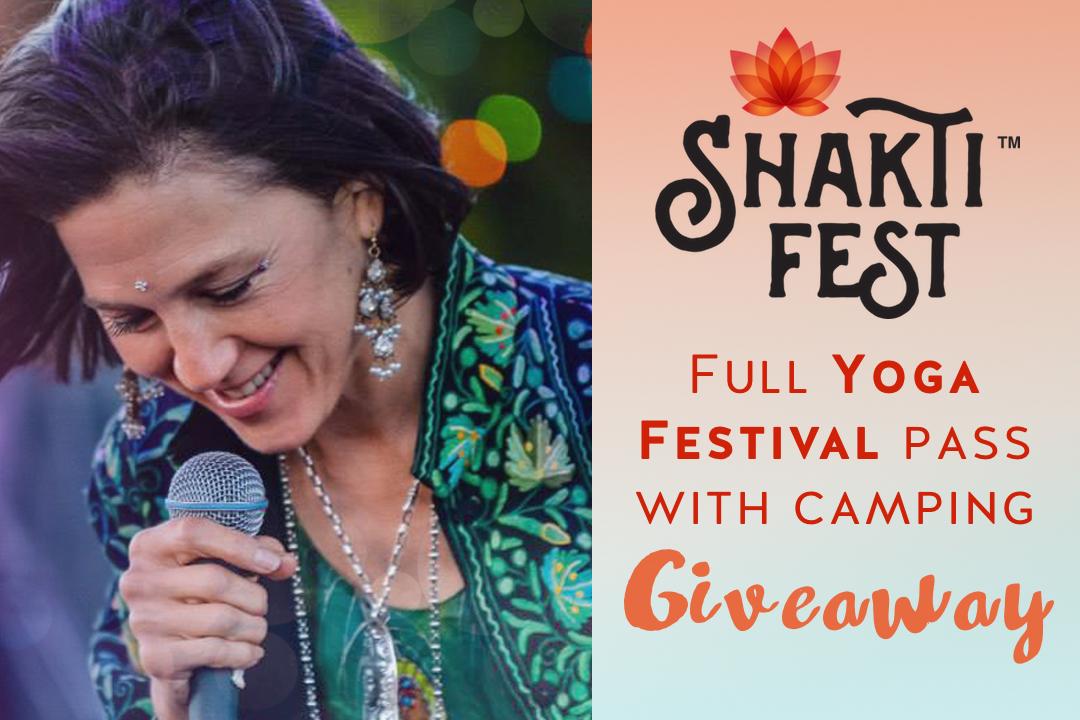 Shakti Fest giveaway contest