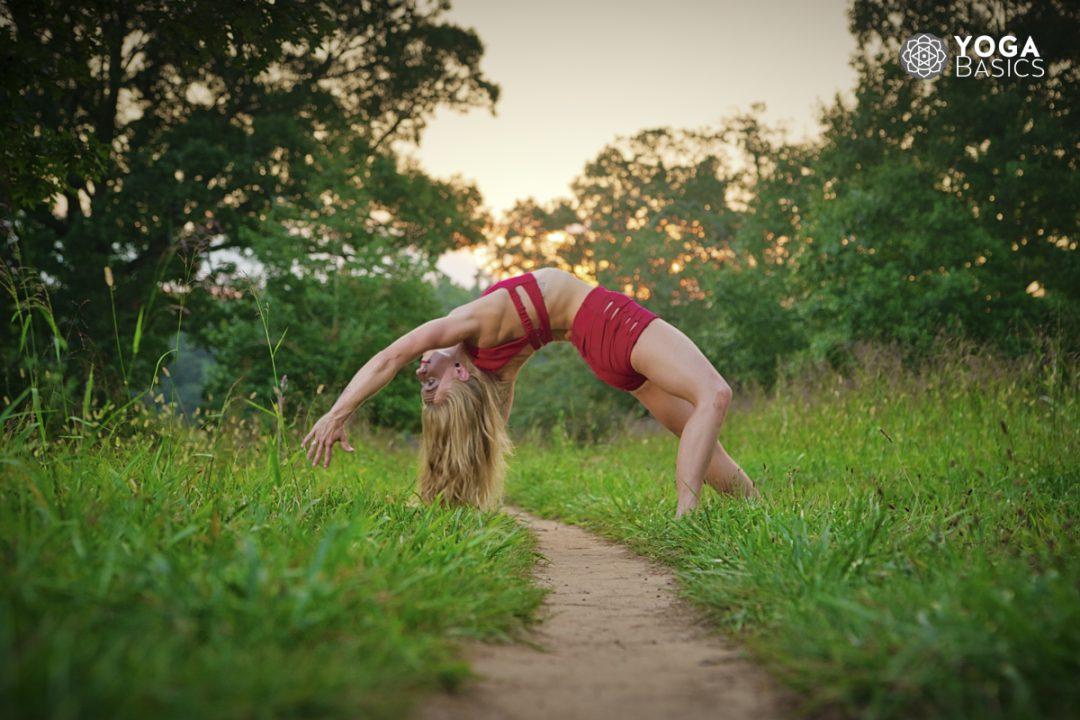 Back-bending Yoga Pose for Envy