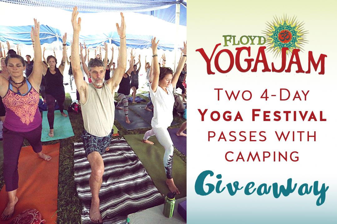 Floyd Yoga Jam giveaway contest