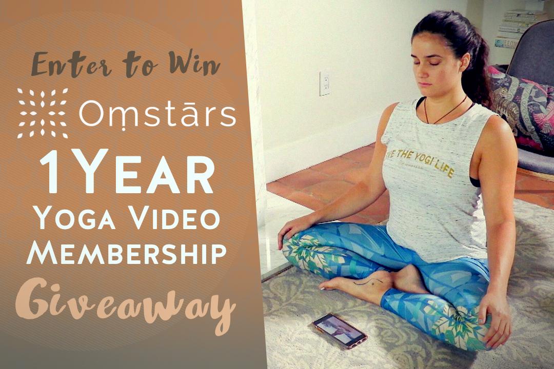 Yoga Giveaway Video Membership