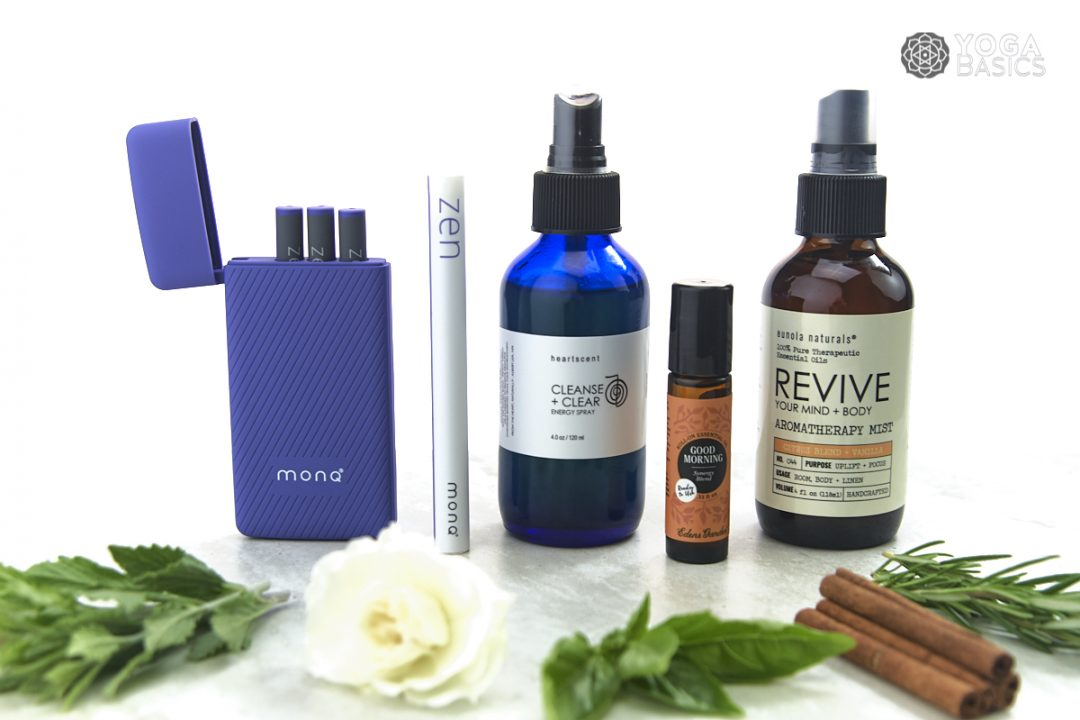 Essential Oils to Energize a Yoga Practice