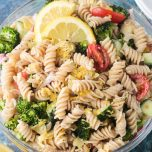 pasta salad yogic recipe