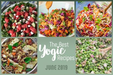 summer yogic recipes