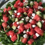 cooling Watermelon salad recipe