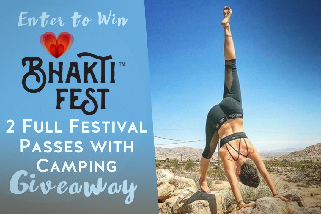 Yoga Giveaway: Bhakti Fest Passes