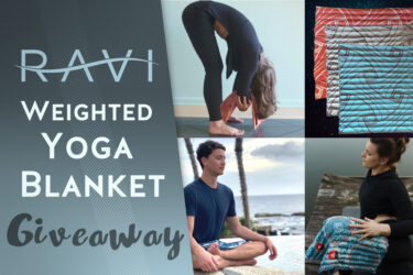 Weighted Blanket giveaway
